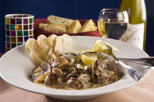 steamed clams baby hard shell clams steamed with fresh herbs garlic ...